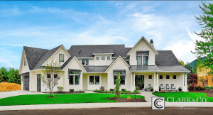 This 5 Bedroom Home Built By Clark And Co From Boise Idaho Is Simply Gorgeous While The Exterior Design Fit For Any Suburban Subdivision