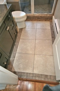 13-Main Bath Floor Tile