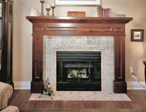 L. R.Fireplace Surround